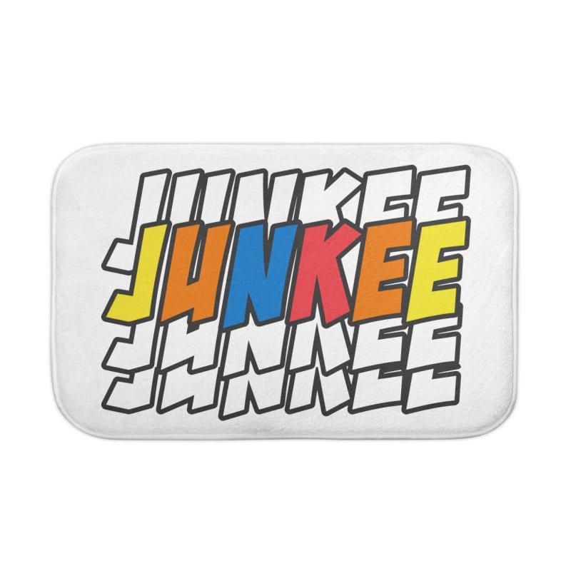 Junkee Graffiti Tee Home Bath Mat by Official Track Junkee Merchandise