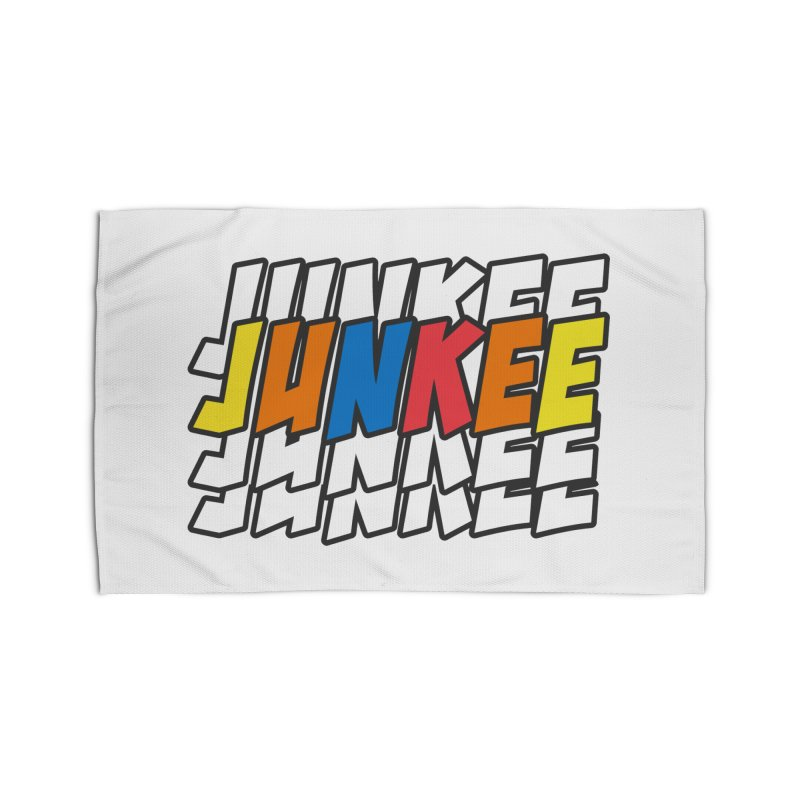 Junkee Graffiti Tee Home Rug by Official Track Junkee Merchandise