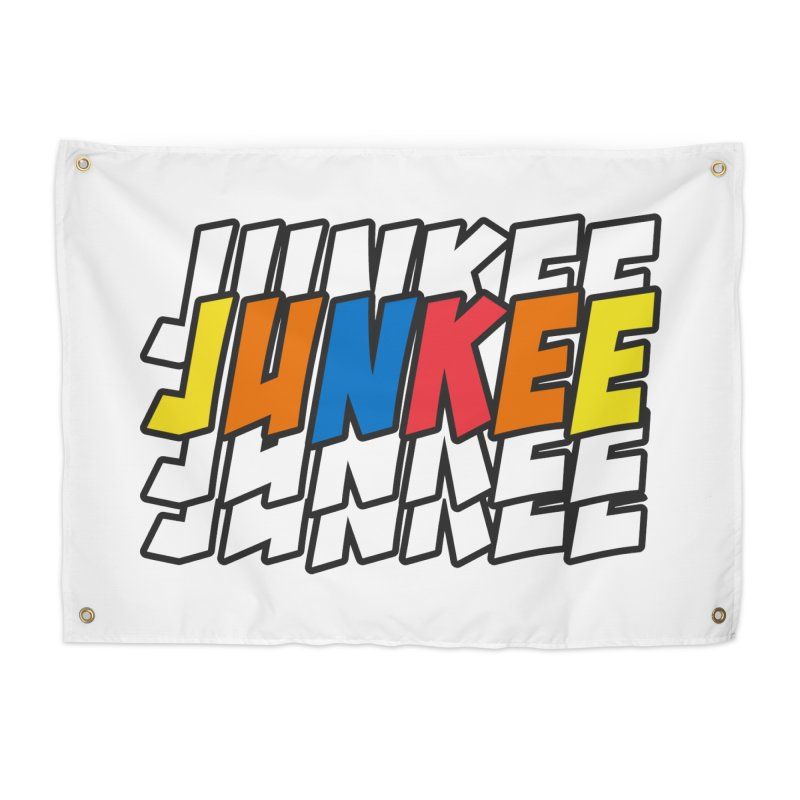 Junkee Graffiti Tee Home Tapestry by Official Track Junkee Merchandise