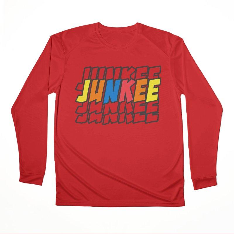 Junkee Graffiti Tee Women's Longsleeve T-Shirt by Official Track Junkee Merchandise