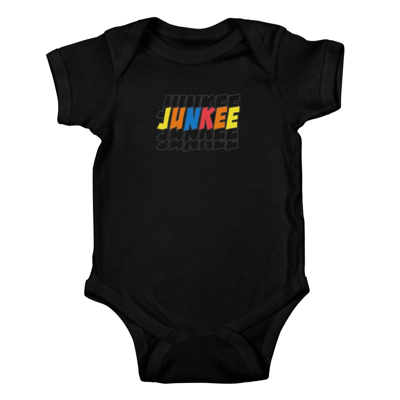 Junkee Graffiti Tee Kids Baby Bodysuit by Official Track Junkee Merchandise
