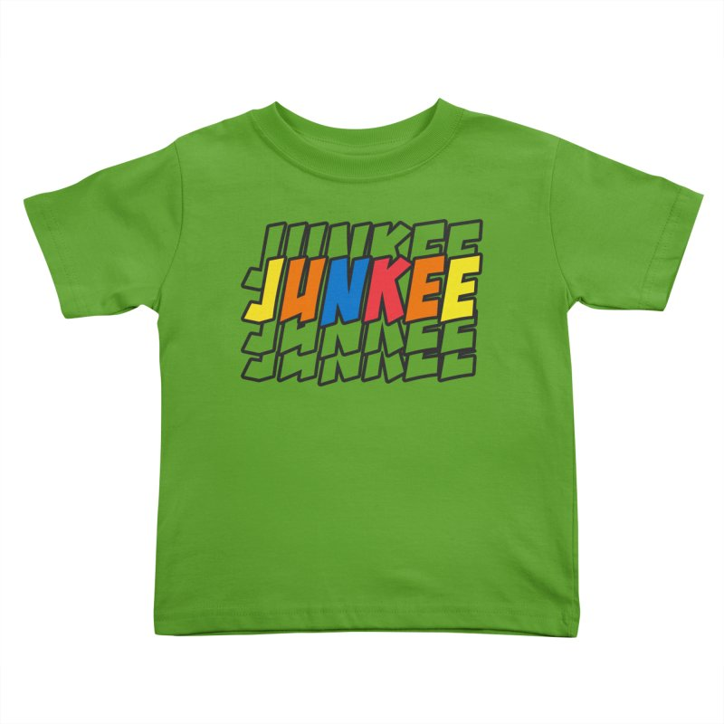 Junkee Graffiti Tee Kids Toddler T-Shirt by Official Track Junkee Merchandise