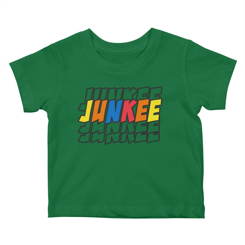 Junkee Graffiti Tee Kids Baby T-Shirt by Official Track Junkee Merchandise