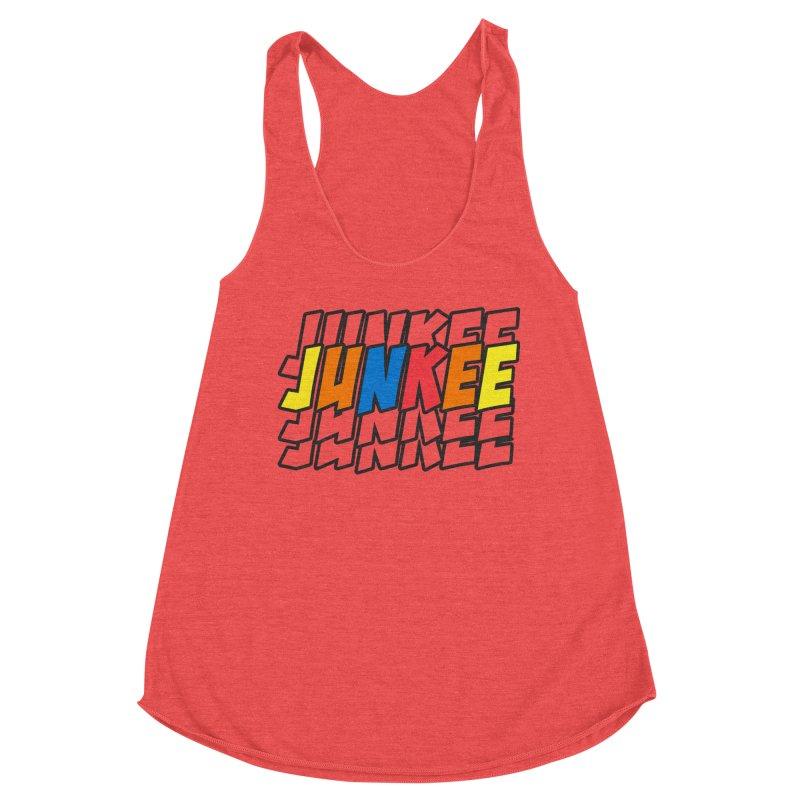 Junkee Graffiti Tee Women's Tank by Official Track Junkee Merchandise
