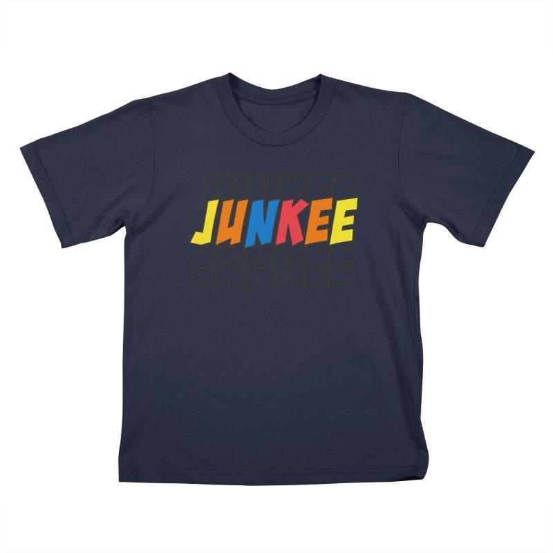 Junkee Graffiti Tee Kids T-Shirt by Official Track Junkee Merchandise