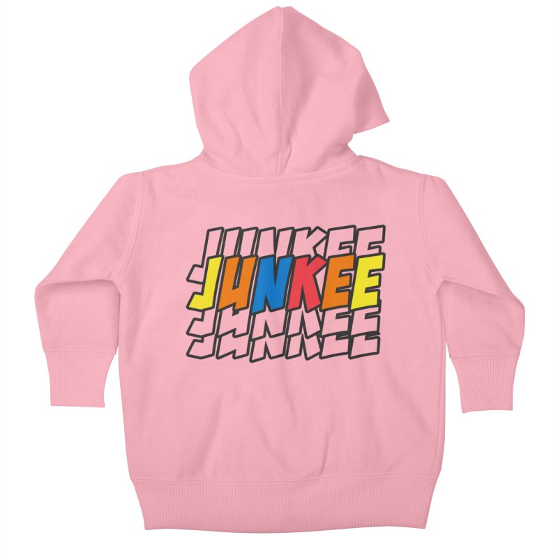 Junkee Graffiti Tee Kids Baby Zip-Up Hoody by Official Track Junkee Merchandise