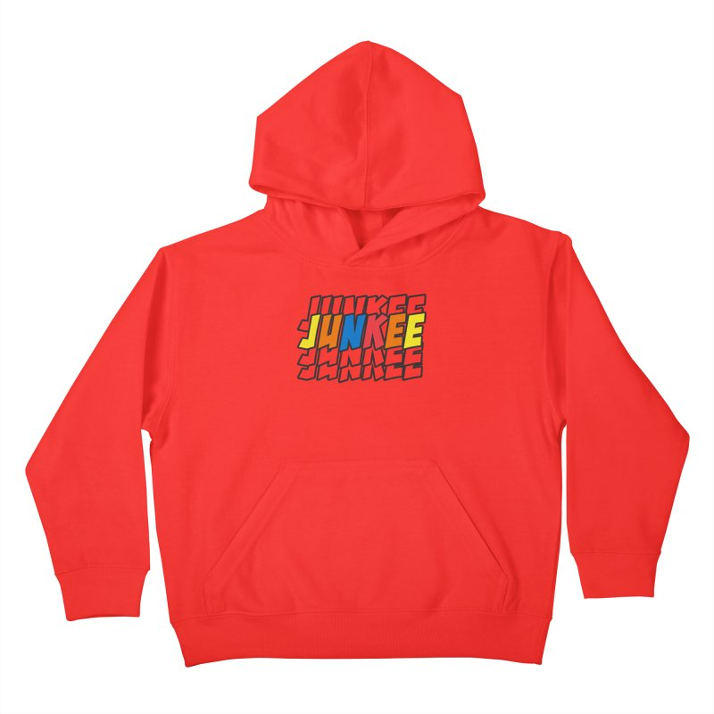 Junkee Graffiti Tee Kids Pullover Hoody by Official Track Junkee Merchandise