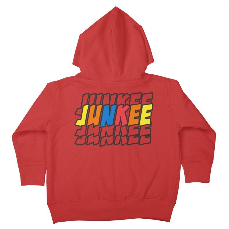 Junkee Graffiti Tee Kids Toddler Zip-Up Hoody by Official Track Junkee Merchandise