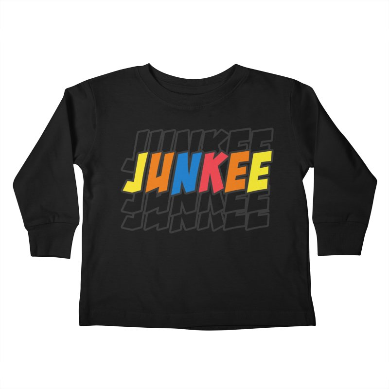 Junkee Graffiti Tee Kids Toddler Longsleeve T-Shirt by Official Track Junkee Merchandise