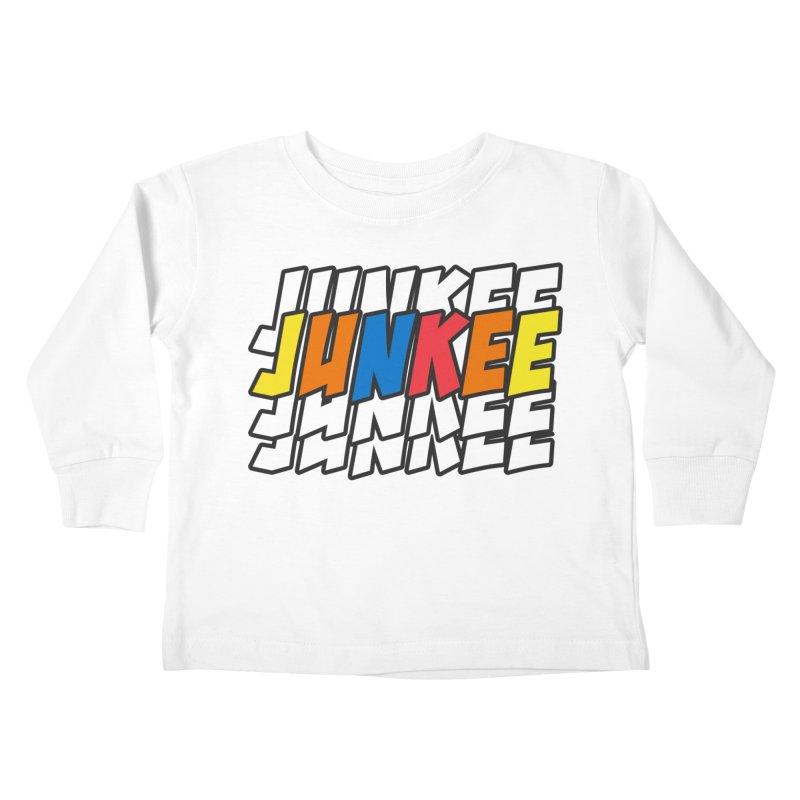 Junkee Graffiti Tee Kids Toddler Longsleeve T-Shirt by Official Track Junkee Merchandise
