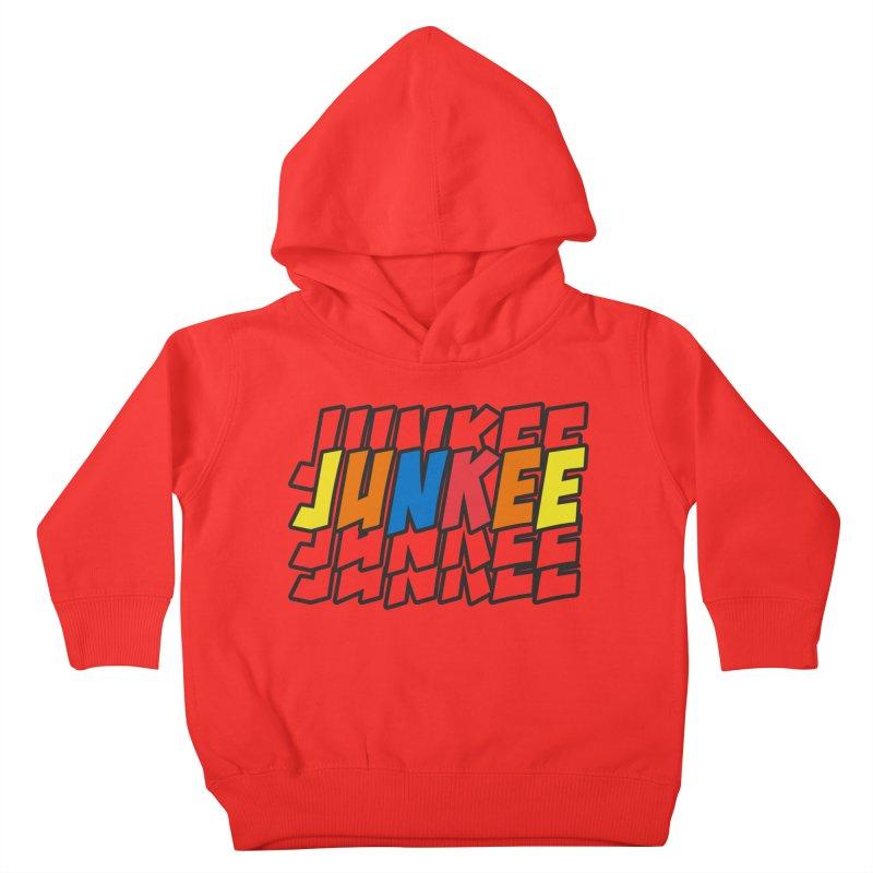 Junkee Graffiti Tee Kids Toddler Pullover Hoody by Official Track Junkee Merchandise