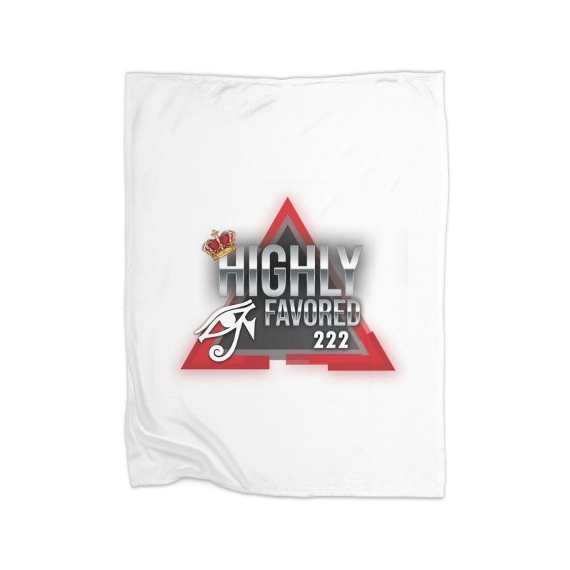 Highly Favored Home Blanket by Official Track Junkee Merchandise
