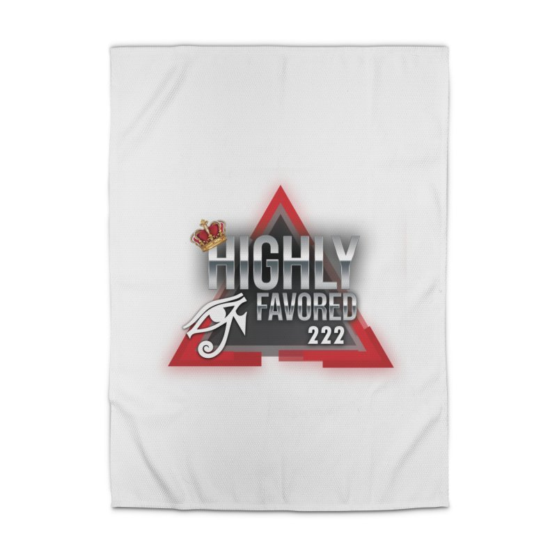 Highly Favored Home Rug by Official Track Junkee Merchandise