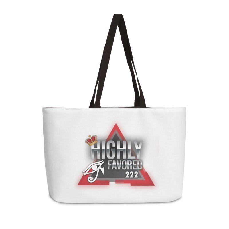 Highly Favored Accessories Bag by Official Track Junkee Merchandise