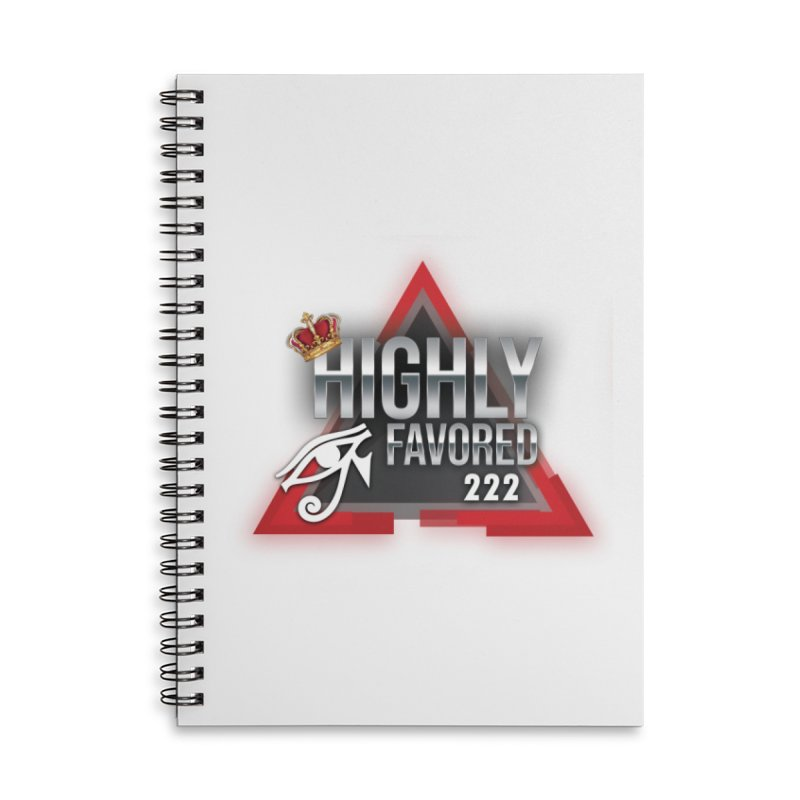 Highly Favored Accessories Notebook by Official Track Junkee Merchandise