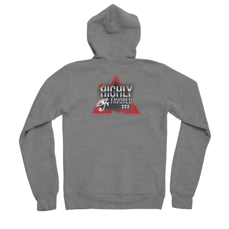 Highly Favored Women's Zip-Up Hoody by Official Track Junkee Merchandise