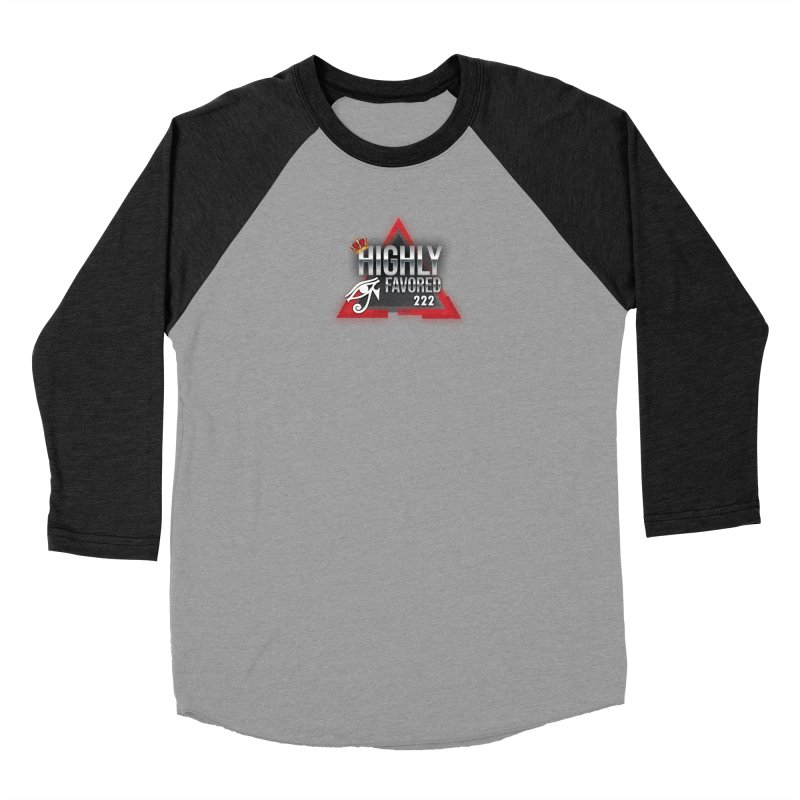 Highly Favored Women's Longsleeve T-Shirt by Official Track Junkee Merchandise