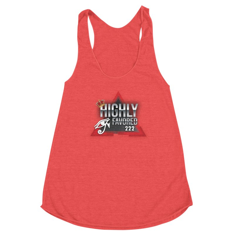 Highly Favored Women's Tank by Official Track Junkee Merchandise
