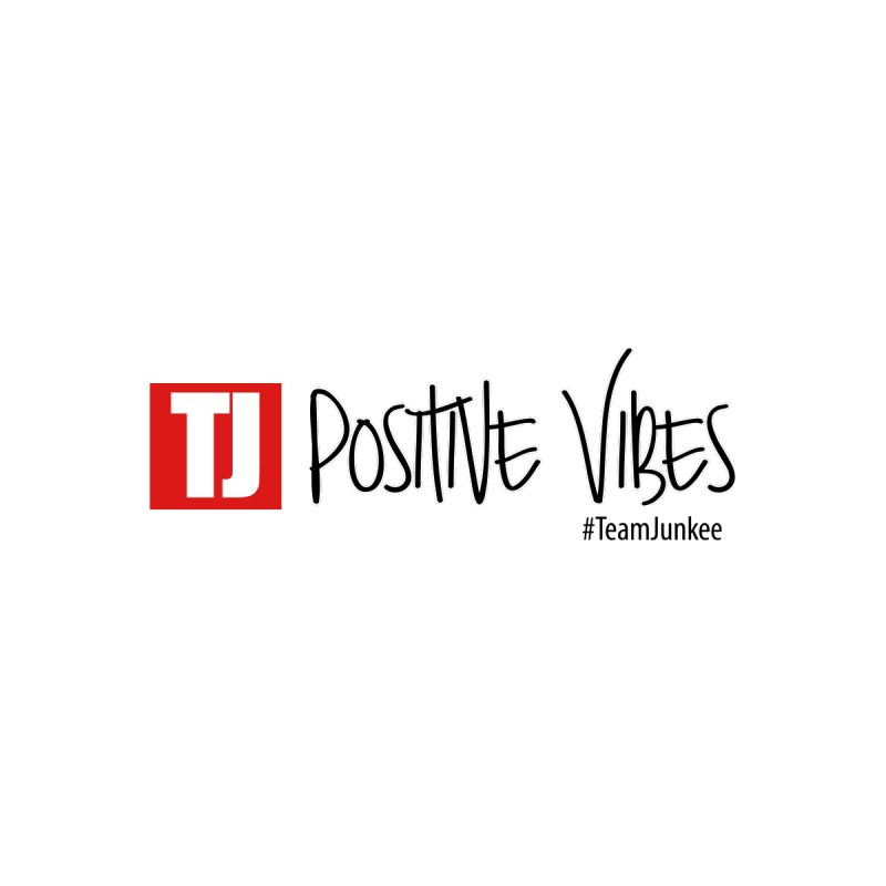 "Radiant ""Positive Vibes"" Home Throw Pillow by Official Track Junkee Merchandise"