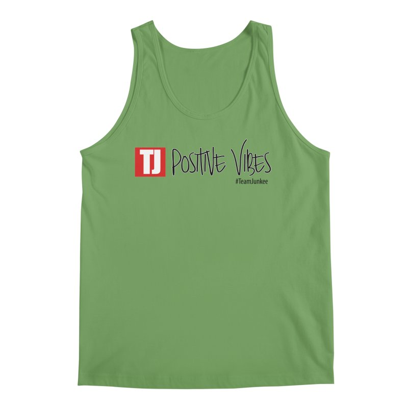 "Radiant ""Positive Vibes"" Men's Tank by Official Track Junkee Merchandise"