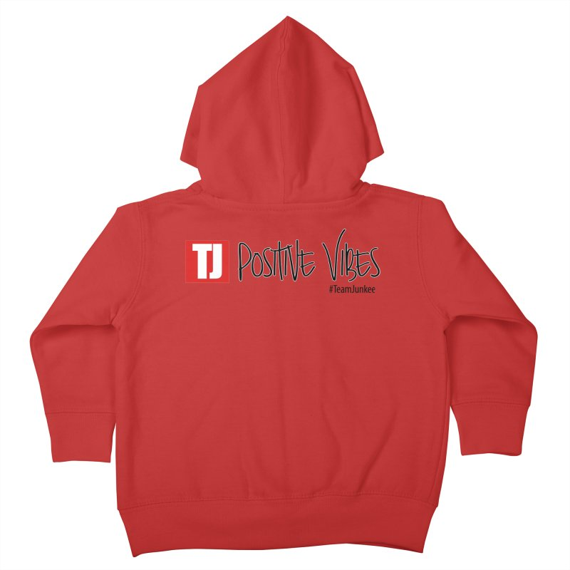 """Radiant """"Positive Vibes"""" Kids Toddler Zip-Up Hoody by Official Track Junkee Merchandise"""