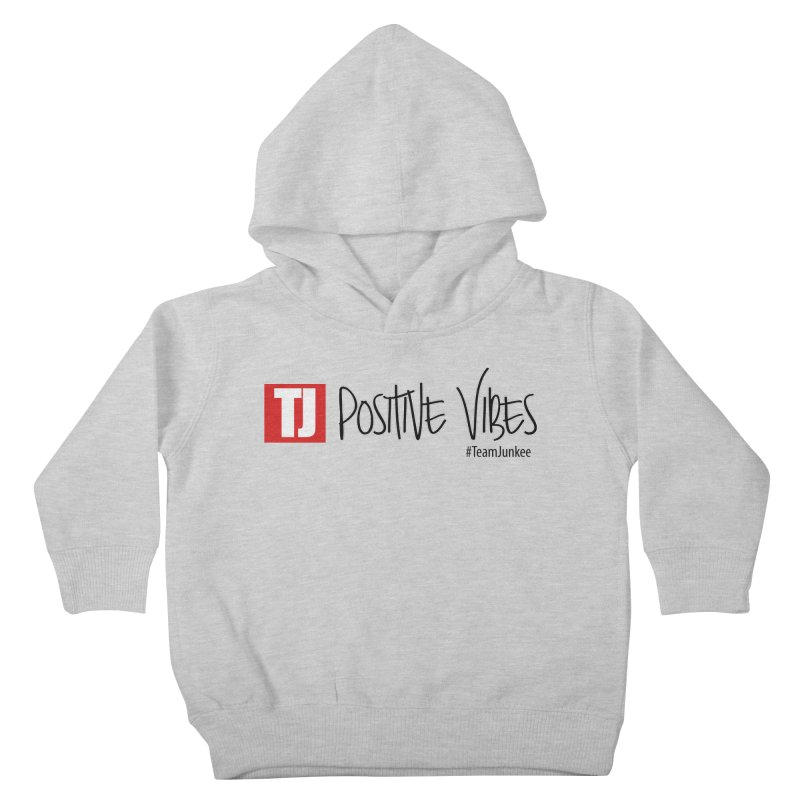 """Radiant """"Positive Vibes"""" Kids Toddler Pullover Hoody by Official Track Junkee Merchandise"""