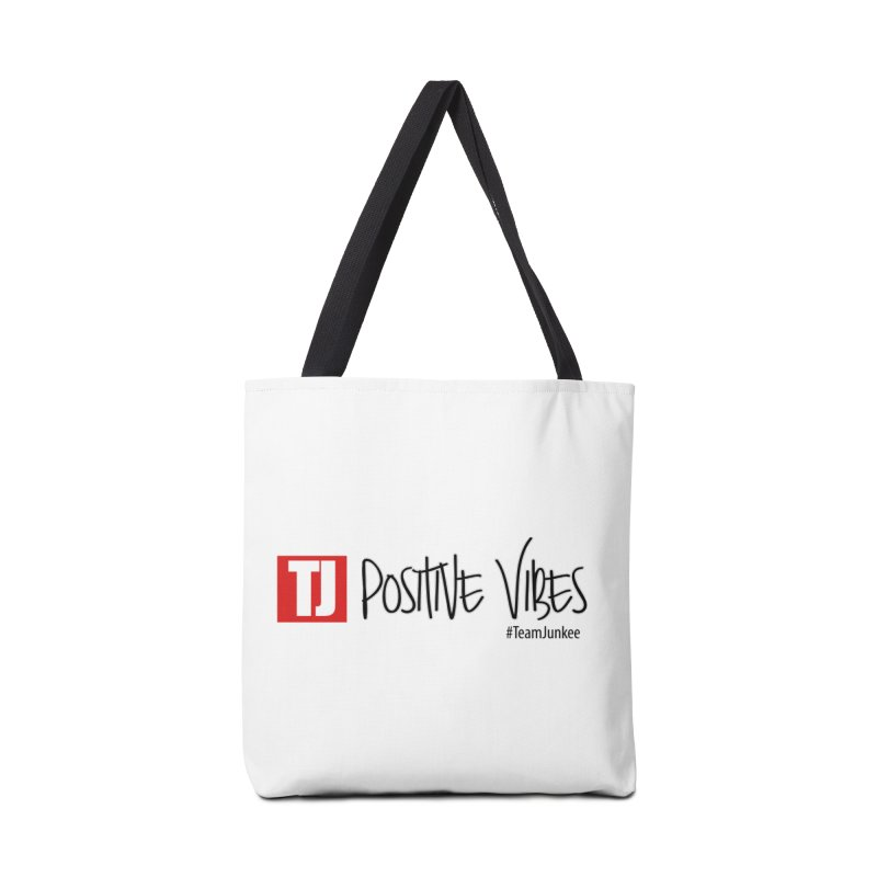 """Radiant """"Positive Vibes"""" Accessories Bag by Official Track Junkee Merchandise"""
