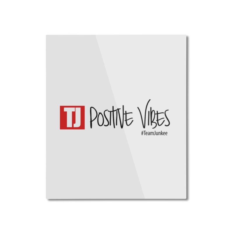"Radiant ""Positive Vibes"" Home Mounted Aluminum Print by Official Track Junkee Merchandise"