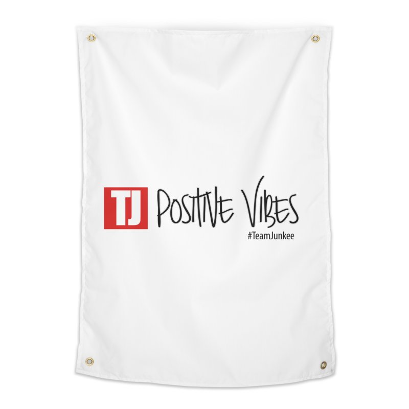 "Radiant ""Positive Vibes"" Home Tapestry by Official Track Junkee Merchandise"