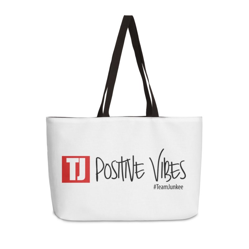 "Radiant ""Positive Vibes"" Accessories Bag by Official Track Junkee Merchandise"