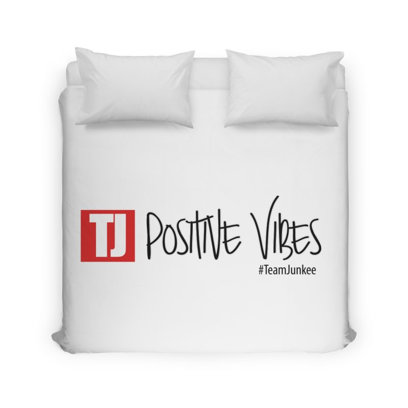 "Radiant ""Positive Vibes"" Home Duvet by Official Track Junkee Merchandise"