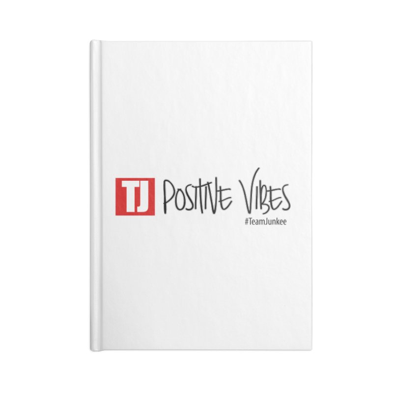 """Radiant """"Positive Vibes"""" Accessories Notebook by Official Track Junkee Merchandise"""