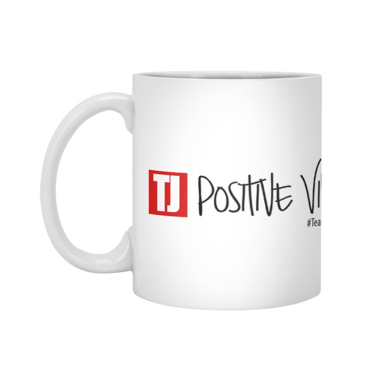 "Radiant ""Positive Vibes"" Accessories Mug by Official Track Junkee Merchandise"
