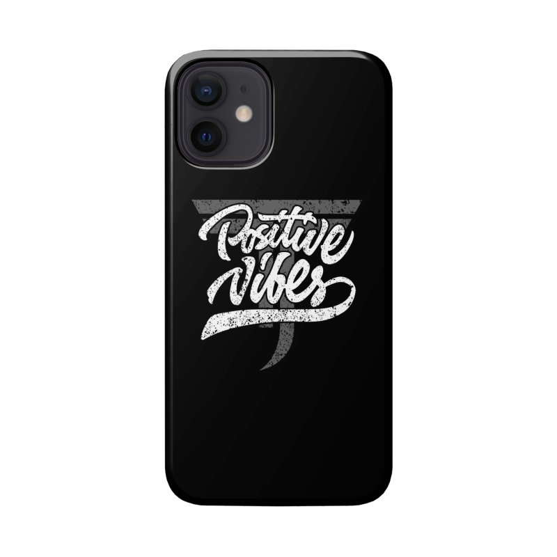 Vintage Positive Vibes (White) Accessories Phone Case by Official Track Junkee Merchandise