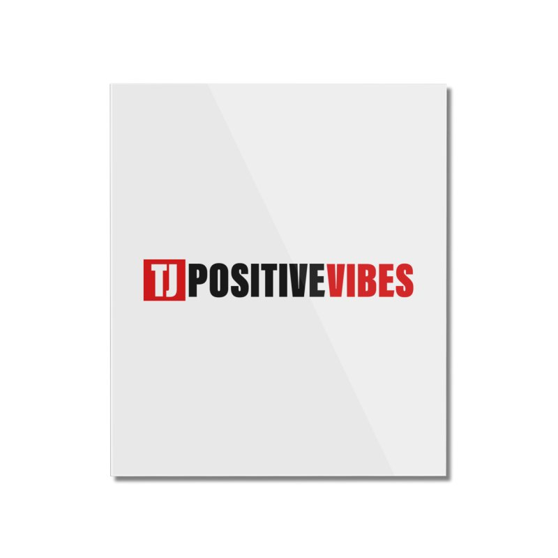 Positive Vibrations Home Mounted Acrylic Print by Official Track Junkee Merchandise