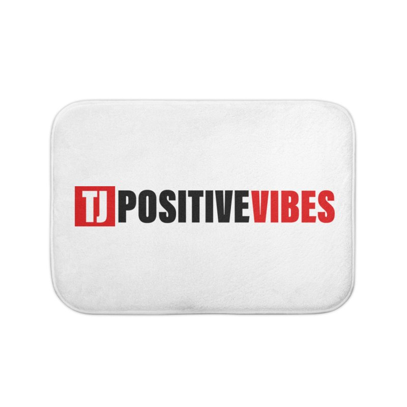 Positive Vibrations Home Bath Mat by Official Track Junkee Merchandise