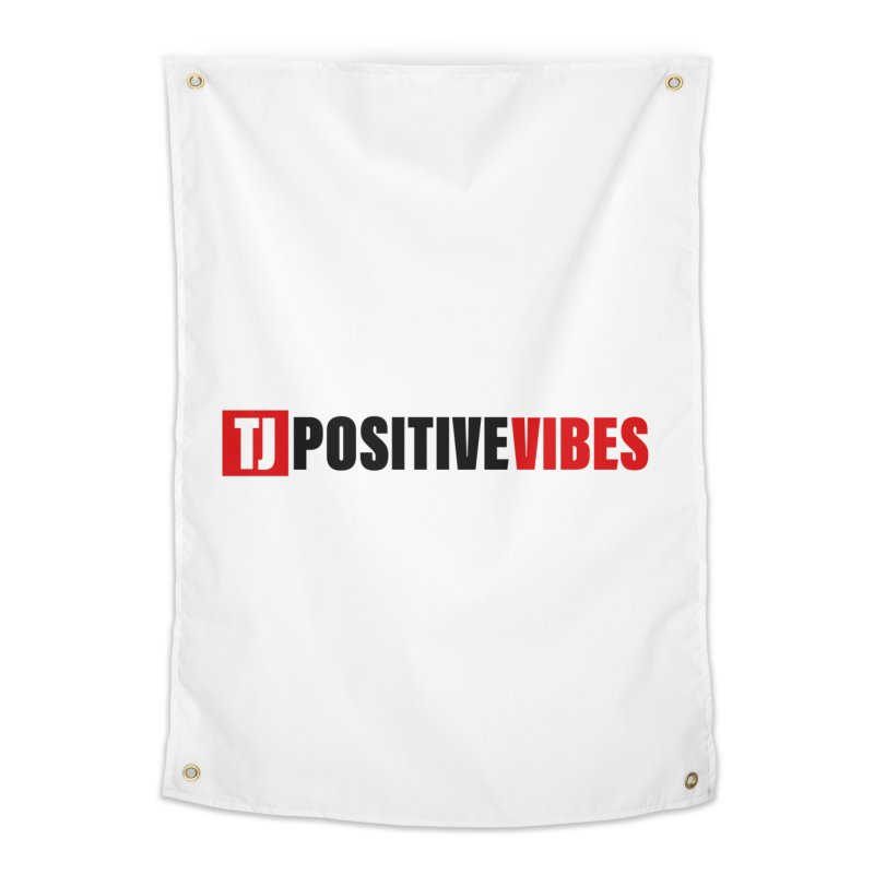 Positive Vibrations Home Tapestry by Official Track Junkee Merchandise