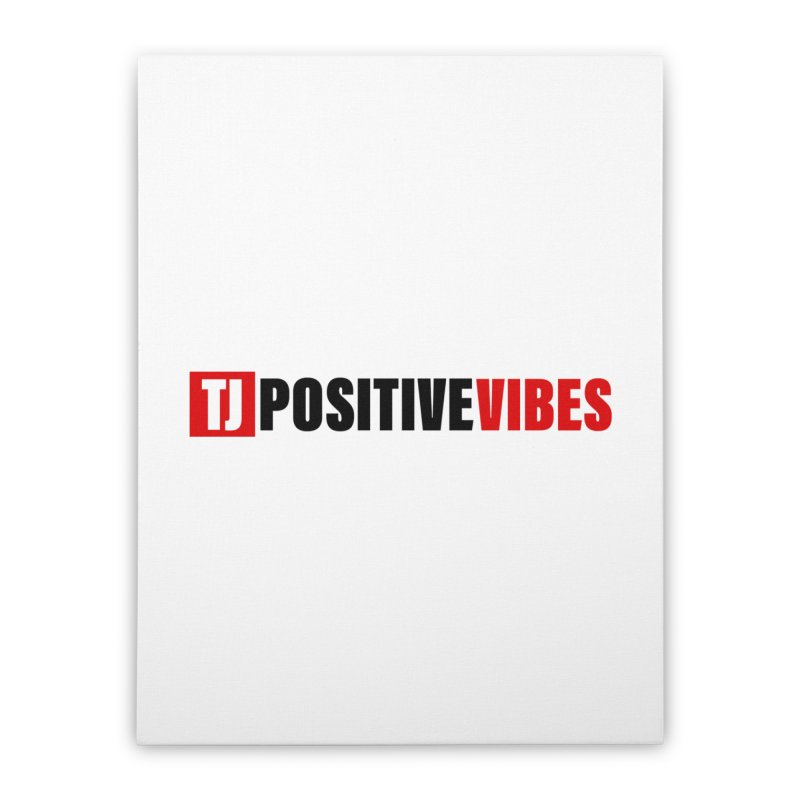 Positive Vibrations Home Stretched Canvas by Official Track Junkee Merchandise