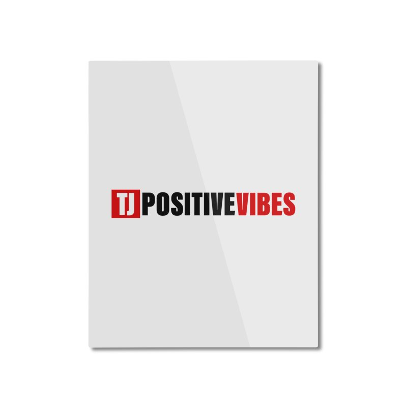Positive Vibrations Home Mounted Aluminum Print by Official Track Junkee Merchandise