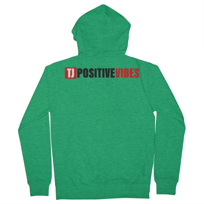 Positive Vibrations Men's Zip-Up Hoody by Official Track Junkee Merchandise