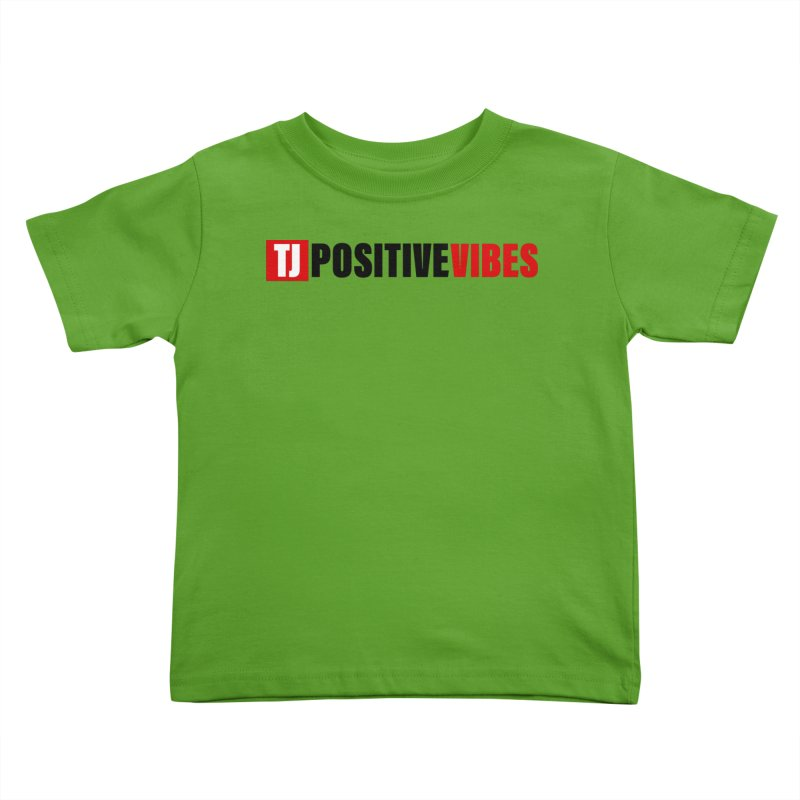 Positive Vibrations Kids Toddler T-Shirt by Official Track Junkee Merchandise