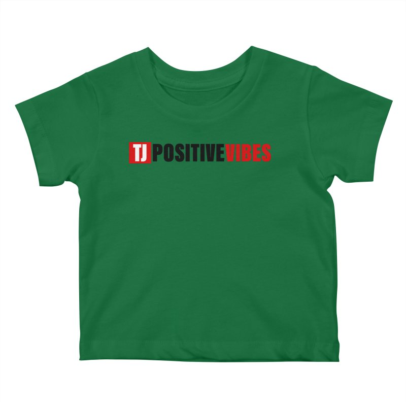 Positive Vibrations Kids Baby T-Shirt by Official Track Junkee Merchandise