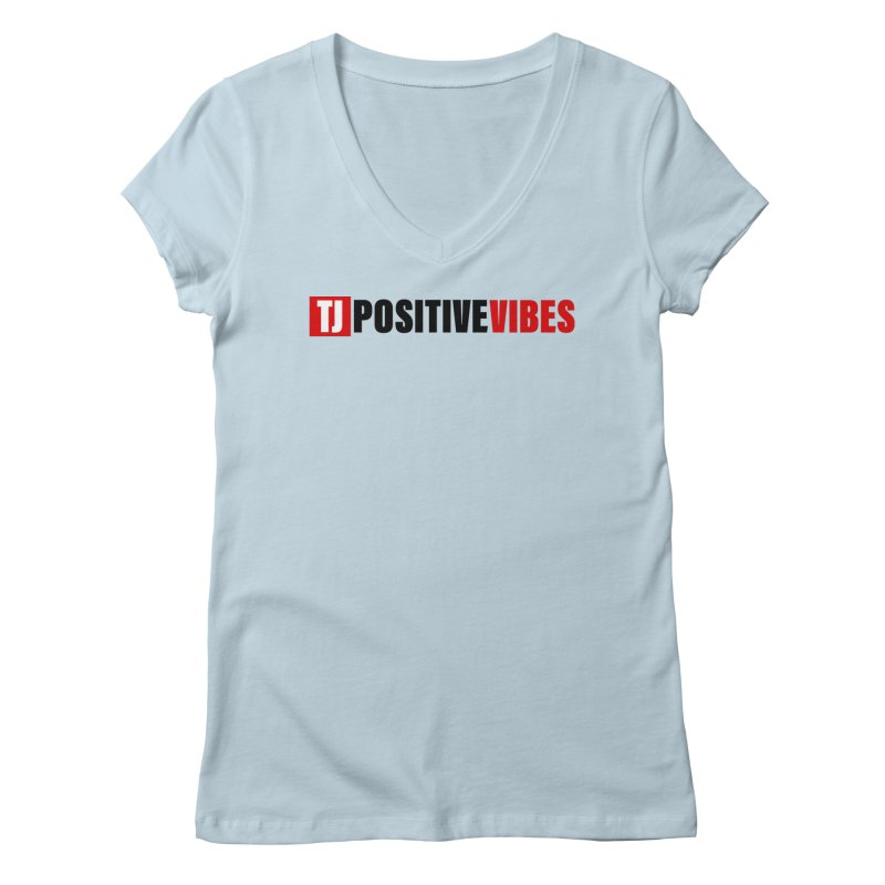 Positive Vibrations Women's V-Neck by Official Track Junkee Merchandise