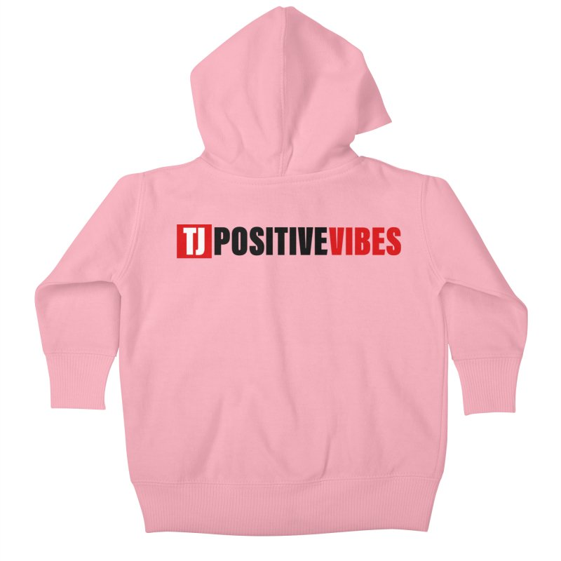 Positive Vibrations Kids Baby Zip-Up Hoody by Official Track Junkee Merchandise