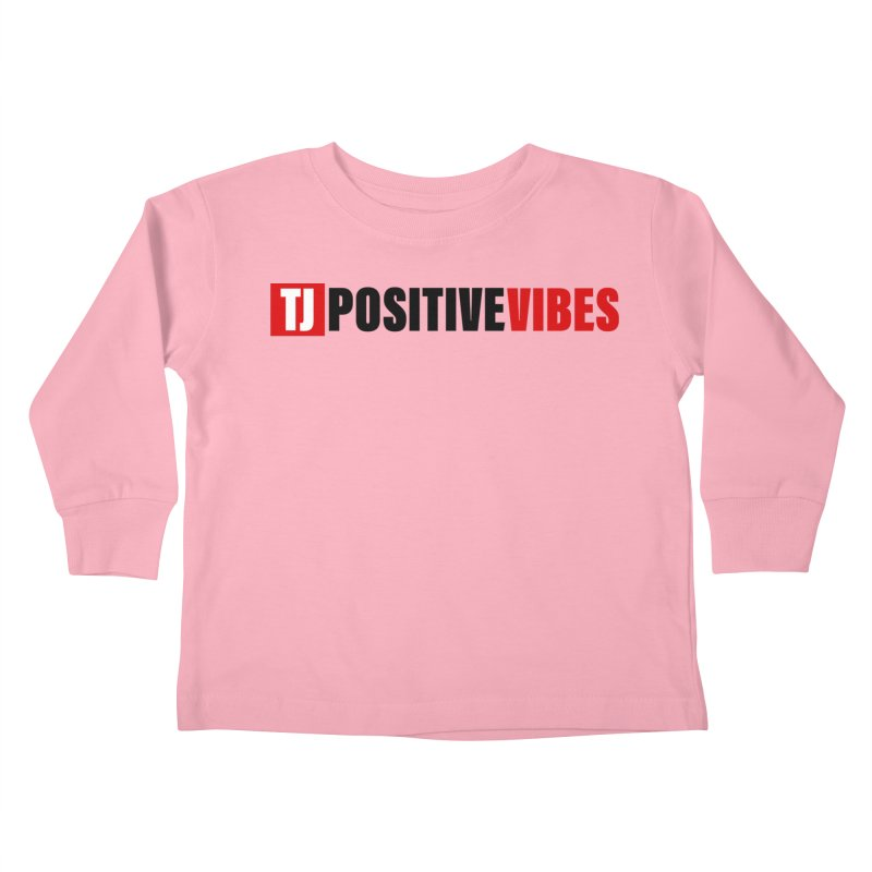 Positive Vibrations Kids Toddler Longsleeve T-Shirt by Official Track Junkee Merchandise