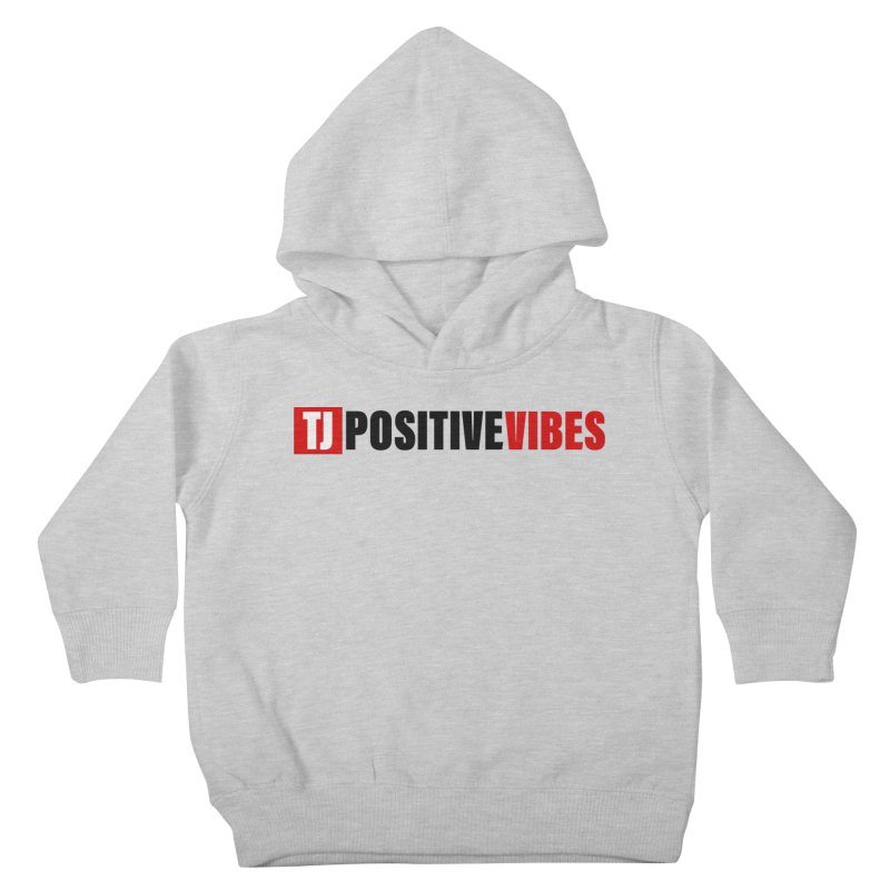 Positive Vibrations Kids Toddler Pullover Hoody by Official Track Junkee Merchandise