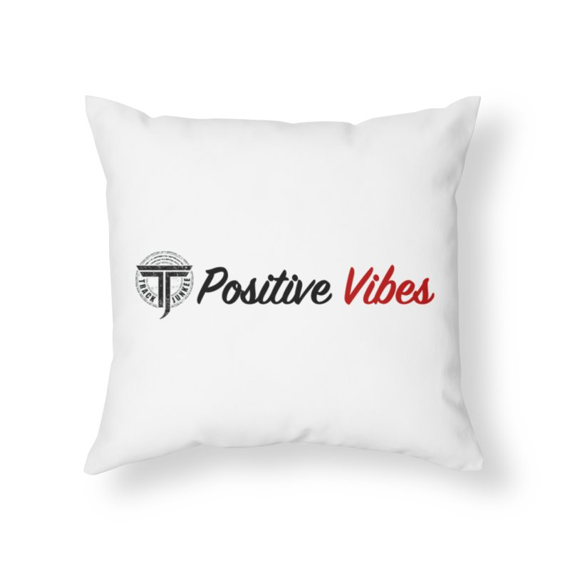 TJ P Vibes Home Throw Pillow by Official Track Junkee Merchandise