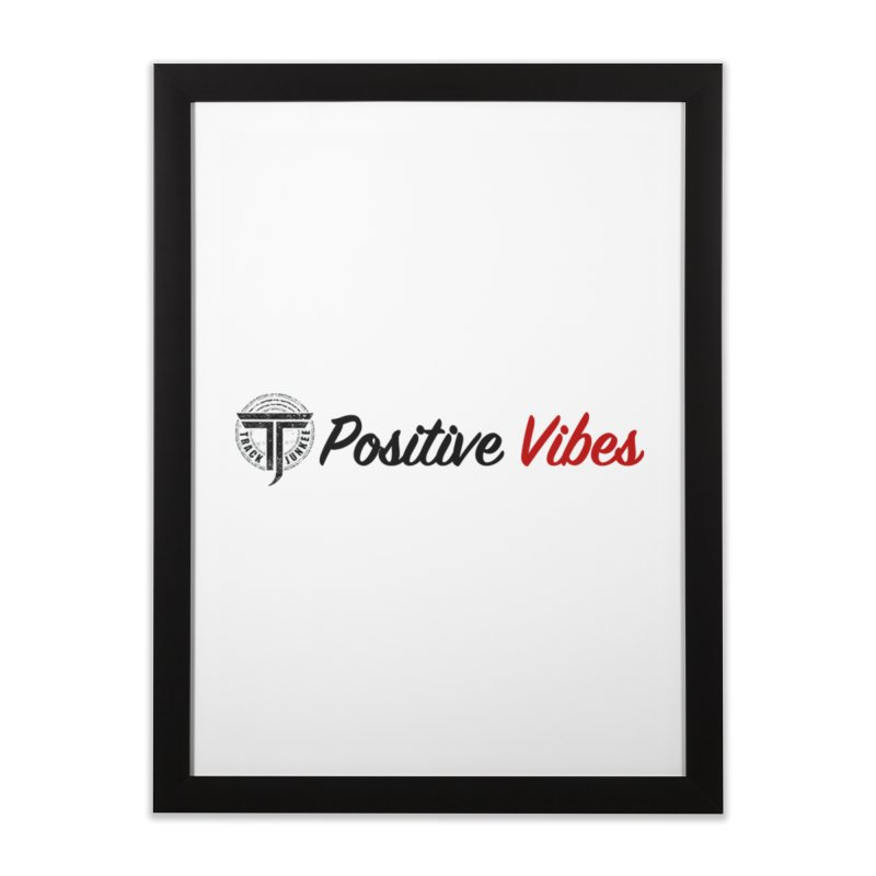TJ P Vibes Home Framed Fine Art Print by Official Track Junkee Merchandise