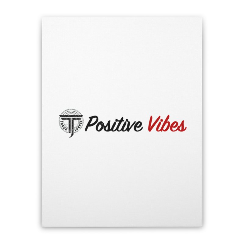 TJ P Vibes Home Stretched Canvas by Official Track Junkee Merchandise