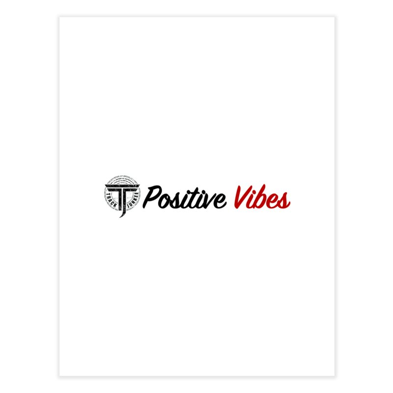 TJ P Vibes Home Fine Art Print by Official Track Junkee Merchandise